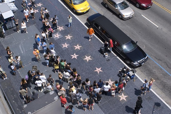Hollywood Walk of Fame in California